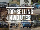 The top-selling 4WD utes of the first half of 2018