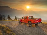 The Gladiator is the first Jeep pick-up since 1992, when production of the MJ Comanche ceased