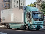 Volvo presents first all-electric trucks to customers