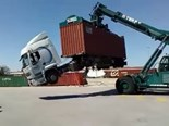 VIDEO: 'Intermodal' container transport