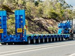 The trailer delivered for Rio Tinto