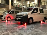 Toyota's new-generation HiAce hits the road