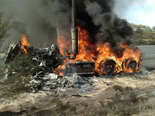 NHVR issues truck fire safety bulletin