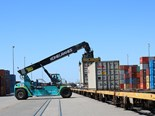 WA hails Fremantle rail freight performance