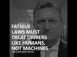ATA emphasises human element in fatigue reform