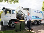 East Waste puts electric truck to work after trial