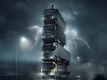 Volvo creates truck tower for new range launch