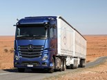One of Mercedes-Benz's promotional images of the Actros