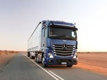 Mercedes-Benz: lights, cameras, Actros