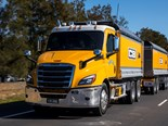 New Freightliner Cascadia: safe and sound
