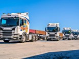 Huge truck delivery marks Swift's Scania half-century