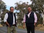 Toole and Barilaro before recent flooding events