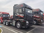 FAW JH6 6x4 prime mover rated to 460hp (343kW)