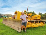 Vintage bulldozer enthusiasts in Gisborne