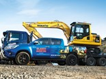 Clarke Machine Hire Komatsu machinery