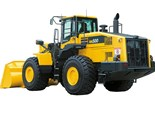 Incoming: Komatsu Dash 7 wheel loaders