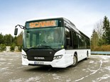 Scania starts trials of battery electric buses