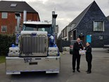 Money raised from trucking show donated to charities