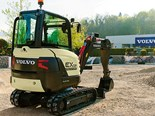 Product feature: Volvo electric compact excavator prototype