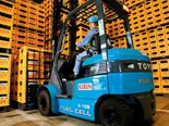 Low-carbon hydrogen technology to power forklifts