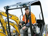 Cover story: Caterpillar mini excavators and asphalt pavers