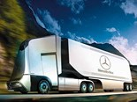 Mercedes Euro-X concept truck unveiled