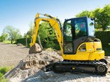 Product feature: Komatsu MR-5 mini excavator