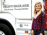 Kirstie Ward is a young truck driver at JJP Haulage in Northern Ireland