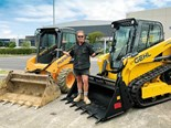 Gehl RT165 track loader delivers