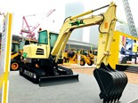 SDLG unveils new concept electric excavator