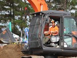 Riki Lum wins 25th National Excavator Competition