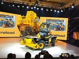 JCB unveils new rotating telehandler and electric Teletruk