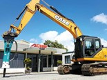 A Case CX210C excavator from AdvanceQuip, ready for delivery