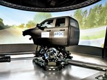 Advanced driving simulator hits the virtual road