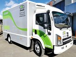 Etrucks is offering a range of electric trucks