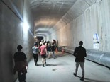 Take a walk through Auckland's new City Rail Link tunnels