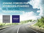 Volvo and Daimler to form fuel-cell production JV
