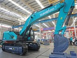 Sunward debuts all-electric large excavator