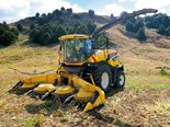New Holland FR600 forage harvester