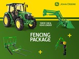 Special tractor + implements packages for farmers