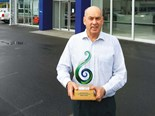 Award for Mabers of Morrinsville