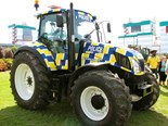 Police tractor support continues