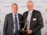 Rabobank NZ CEO Daryl Johnson (left) with Sir Graeme Harrison