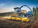 New flagship forage harvester for New Holland