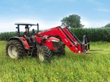 A Massey Ferguson 5709 Global Series tractor at work