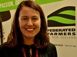 First female chair to join Federated Farmers national board