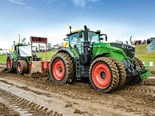 NZ Agricultural Fieldays tractor pull