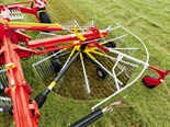 New centre swather rake from Pottinger