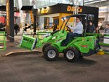 EuroTier 2018: Avant e6 electric loader