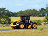 New British tractor speed record set by JCB Fastrac